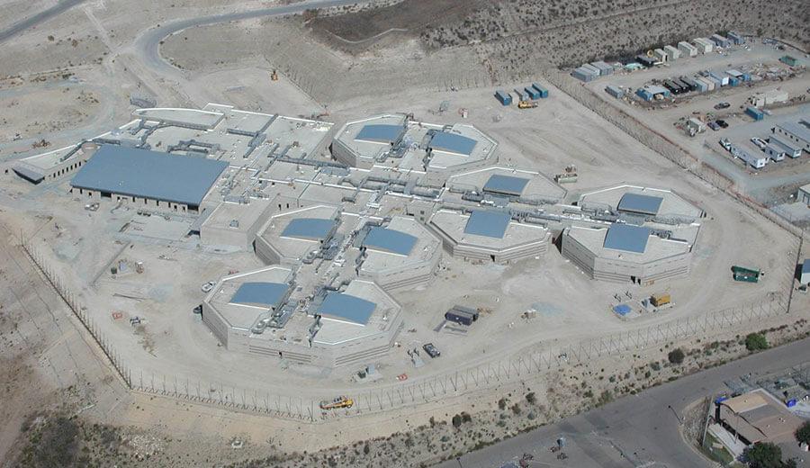 East Mesa Juvenile Detention Facility Soltek Pacific